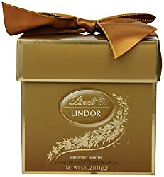 Lindt Lindor Truffles, Assorted Token Gift Box, 5.1 Ounce Package