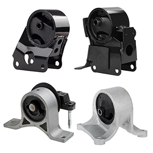 Maxmount 4pcs/Set A7340 A7341 A7342 A7343 Transmission Engine Motor Mounts Replacement For 02-06 Nissan Altima 2.5L Auto (Altima Engine compare prices)