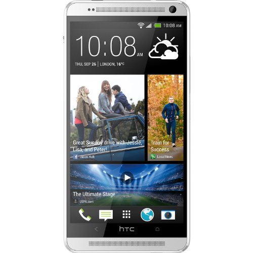 HTC One Max 32GB 4G LTE Unlocked GSM Android Smartphone – Silver