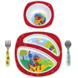 Lamaze Sir Prance-A-Lot 4 Piece Feeding Set Baby, NewBorn, Children, Kid, Infant