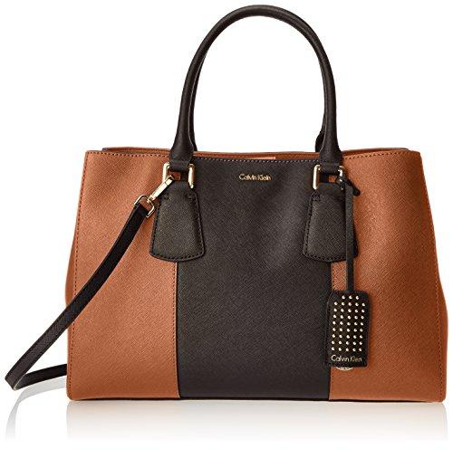 Calvin Klein Kate Saffiano Satchel Bag by Calvin Klein Handbags