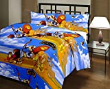 RajasthaniKart Cartoon Print Reversible AC Blanket/Quilt (Soft, Skin friendly)