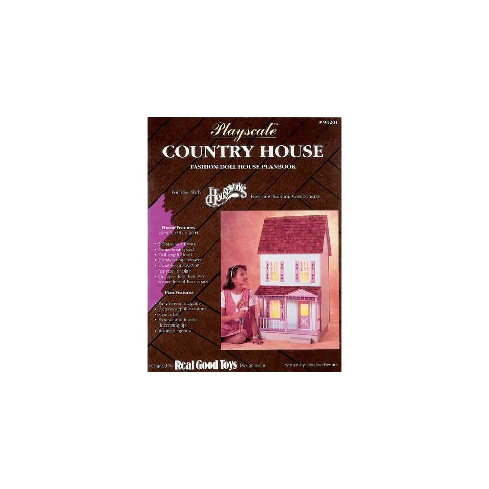 Playscale Country House Plans Real Good Toys f// Barbie 91201