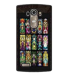 PrintDhaba Dolls D-2929 Back Case Cover for LG G4 (Multi-Coloured)