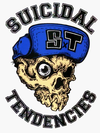 Suicidal Tendencies - Skull with Hat Sticker / Decal by Square Deal Recordings & Supplies