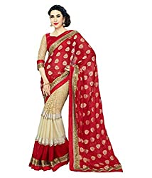 Pushkar Sarees Net Saree (Pushkar Sarees_35_Multi-Coloured)