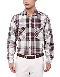 Deezeno Slim Fit Checkered Cotton Shirt