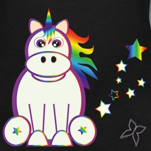 "Assez T-Shirt licorne Femme – ""Licorne Arc en Ciel"" | Little Licorne HF39"