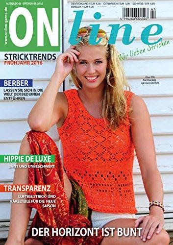 ONline Stricktrends Ausgabe 43 - Frühjahr/Sommer 2016
