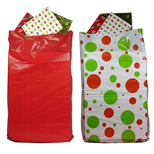 2-Pack Giant Christmas Gift Bags for easy wrapping large gifts 42