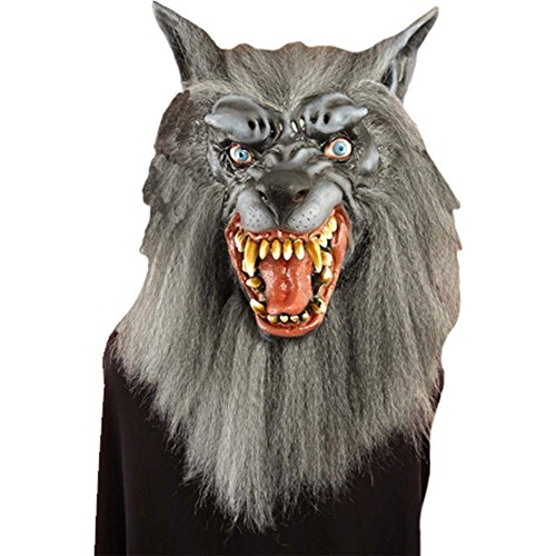Scary Night Wolf Adult Mask