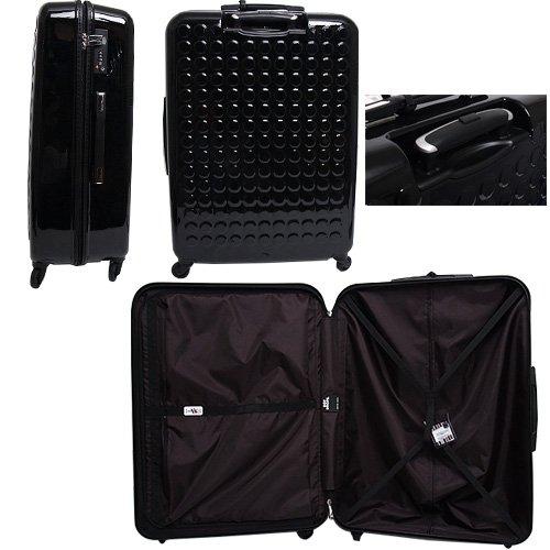 ドットドロップス DOT DROPS スーツケース ART MODEL アートモデル 12326PCK ブラック 100L