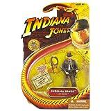Indiana Jones 3 3/4Inch - Indiana Jones with SubMachine Gun - Last Crusade ~ Hasbro