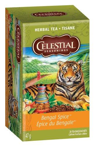 Celestial Seasonings, Bengal Spice, 20-Count