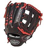 Louisville Slugger FGHDSR5 HD9 Scarlet Fielding Glove, 11.75-Inch, Right Hand Throw, 11.75-Inch/Scarlet