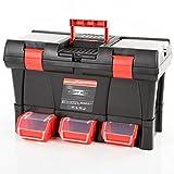 Werkzeugkiste Werkzeugkasten Werkzeugbox Stuff Module Semi Profi-20 inkl. Kleinteilemagazin 52