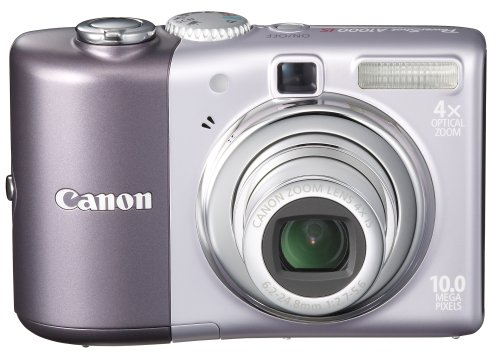 Canon PowerShot A1000 IS is one of the Best Point and Shoot Digital Cameras for Low Light Photos Under $300