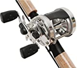 Abu Garcia Ambassadeur S Combo, 8ft.6in., Medium, 2 Piece, AMBS-6501 Reel 1317463