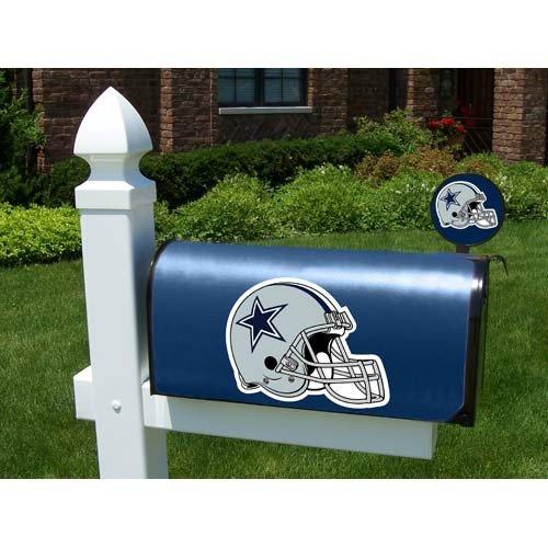 Cowboys mailbox dallas cowboys mailbox cowboys mailboxes for Car mailboxes for sale