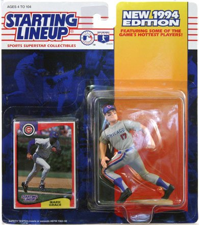 Starting Lineup New 1994 Edition Mark Grace Chicago Cubs