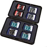7dayshop Brushed Aluminium Memory Card Case for 8x SD / SDHC / SDXC Cards - AL1-SD