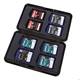 7dayshop Brushed Aluminium Memory Card Case for 8x SD / SDHC / SDXC Cards - AL1-SD