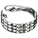 D&G Ladies Dolce & Gabbana Silver Sheen Choker Necklace DJ0828
