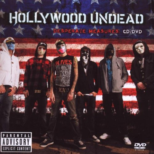 CD : Hollywood Undead - Desperate Measures [Explicit Content] (With DVD, 2 Disc)