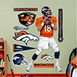 Peyton Manning NFL Denver Broncos Fathead REAL.BIG Wall Graphic