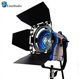 LimoStudio 300 Watt Photography Studio Light Photo Video Film and Television Tungsten Fresnel Continuous Lighting Spotlight, AGG1024