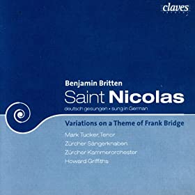 Saint Nicholas/ Variations On A Theme Of Frank Bridge