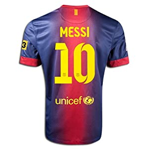 (梅西)正版耐克巴萨梅西球衣 第三方 $29.99 Nike #10 Messi Barcelona Home
