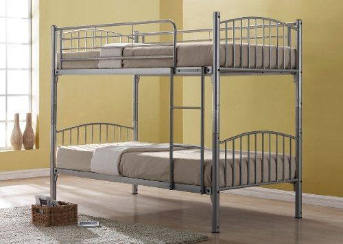 BRAND NEW Corfu Metal Bunk with 2 mattresses IN STOCK