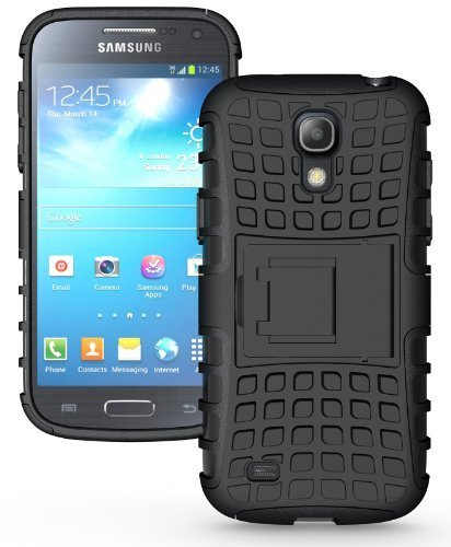G-STAR Shockproof Armour with Kickstand Case For Samsung Galaxy S4 Mini i9195 - Black