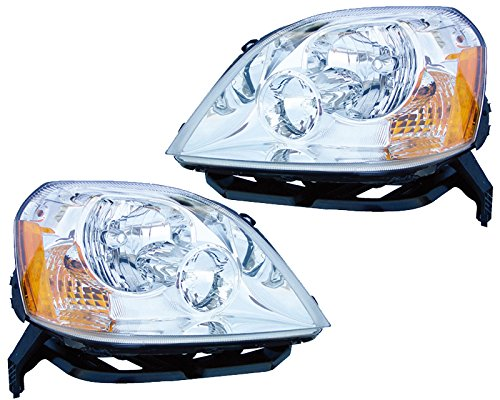 ford-five-hundred-500-halogen-headlights-headlamps-set-new-pair
