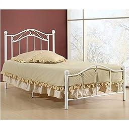 Hillsdale Gavin Twin Bed in White