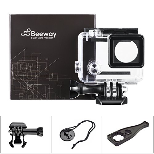 beewayr-housing-case-for-gopro-hero-4-black-silver-3-3-action-camera-waterproof-30-meters-underwater