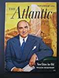 img - for THE ATLANTIC MONTHLY - November, 1951 book / textbook / text book