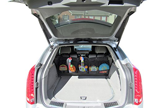 Premium Best Quality Trunk/Backseat Car Organizer By RockPros-For All Vehicles,5-large Pockets-Heavy Duty- Multipurpose Large Trunk Organizer-Sturdy Cargo Accessory-Back Seat Storage Auto Organizer (Cargo Organizer With Cooler compare prices)