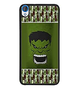 PrintDhaba Hulk D-4688 Back Case Cover for HTC DESIRE 820 (Multi-Coloured)