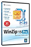 WinZip 15 Professional Single User CD EN DVD