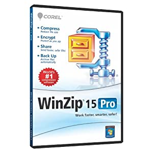 WinZip 15 Professional Single User CD EN DVD [OLD VERSION]