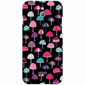 Infocus M2 Back Cover - Silicon Umbrella Designer Cases
