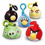 Plush Angry Birds Backpack Clip On で怒っている鳥のぬいぐるみバックパッククリップ♪ハロウィン♪クリスマス♪