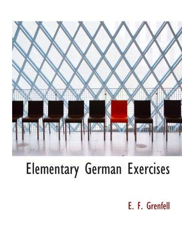 Elementary German Exercises