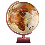Northwoods Bronze 12 Raised Relief Desk Globe