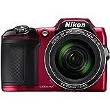 """Nikon Coolpix L840 Appareil photo numérique compact 16 Mpix Écran LCD 3"""" Zoom optique 38X Rouge"""