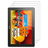 3x screen protector for Huawei MediaPad 10 FHD CRYSTAL CLEAR - premium quality from kwmobile
