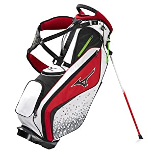 Buy Mizuno Golf AeroLite SPR II Bag, White Red by Mizuno