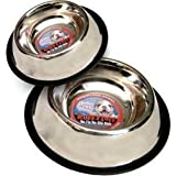 Loving Pets Standard No-Tip Dog Bowl, 64-Ounce
